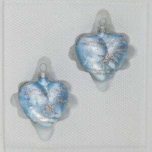 Ice Blau Silber Komet