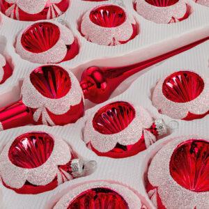 Hochglanz Vintage Rot Detail