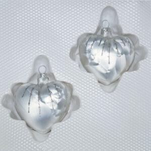 Ice Weiss Silber Regen