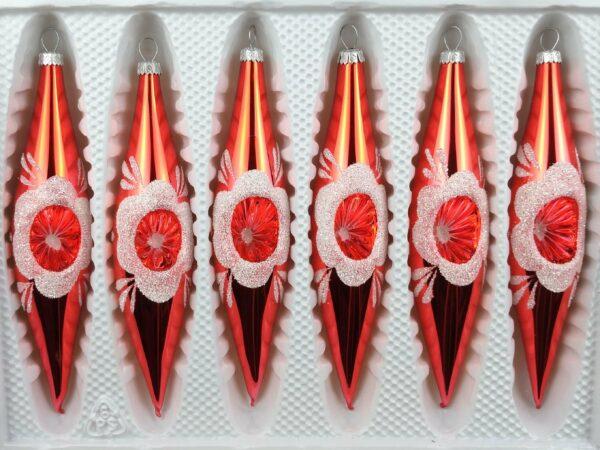 Hochglanz Vintage Rot
